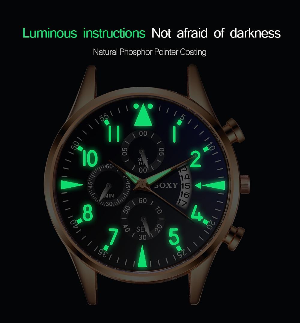 H95f94ab76eb54fff9920b6b38c040192r Men's Watch 2019 Top Brand Luxury Luminous Date Clock Sports Watches Men Quartz Casual Wrist Watch Men Clock Relogio Masculino
