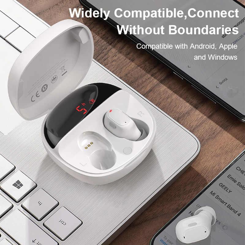 Auriculares inalámbricos Bluetooth Baseus WM01 Plus TWS, auriculares inalámbricos 5,0 auténticos, miniauriculares estéreo para Xiaomi