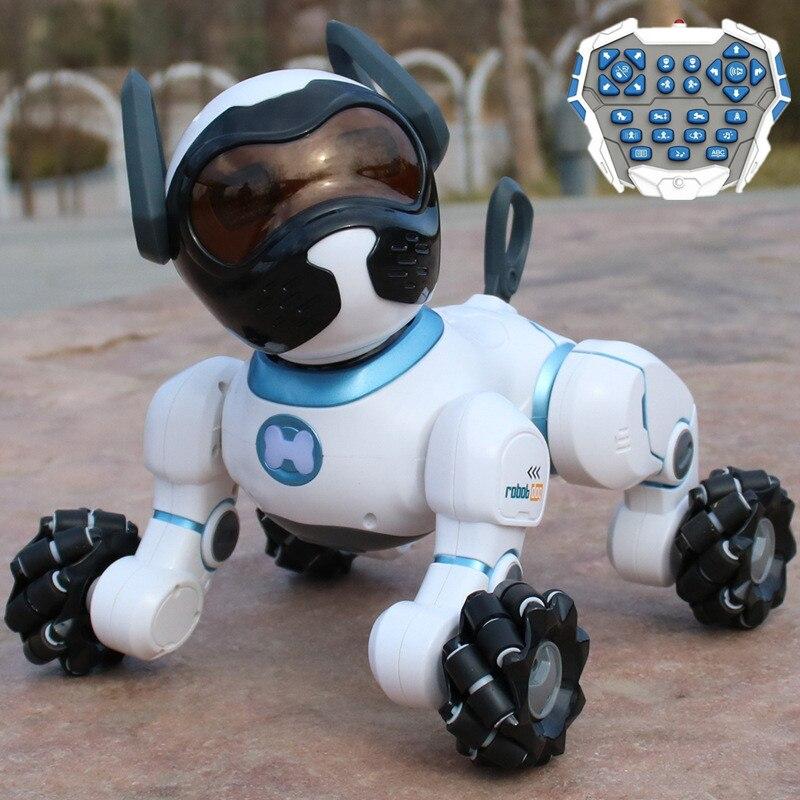 Умные роботы с голосовым управлением, детские развивающие игрушки, радиоуправляемый робот, собака, поющий танцующий робот, игрушки для дете... - 2
