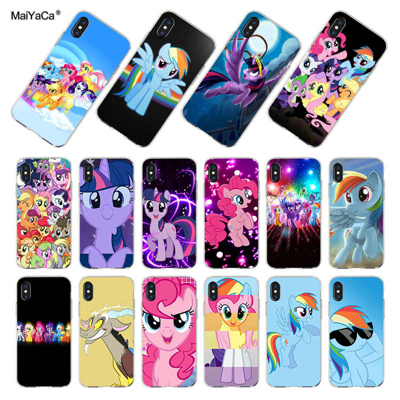 MaiYaCa Binful Magic My Little Pony soft tpu phone case cover for iPhone 8 7 6 6S Plus X XS XR 10 5S 12pro SE 11pro max Coque