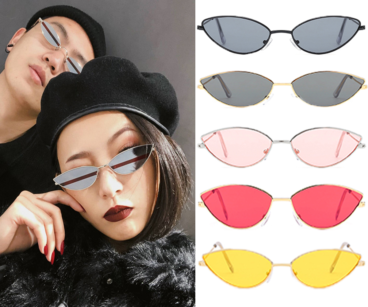 Cat Eye Sunglasses Women 2019 Vintage Sunglasses Brand Designer New Fashion Eyewear Retro Sun Glasses Female Oculos De Sol D40