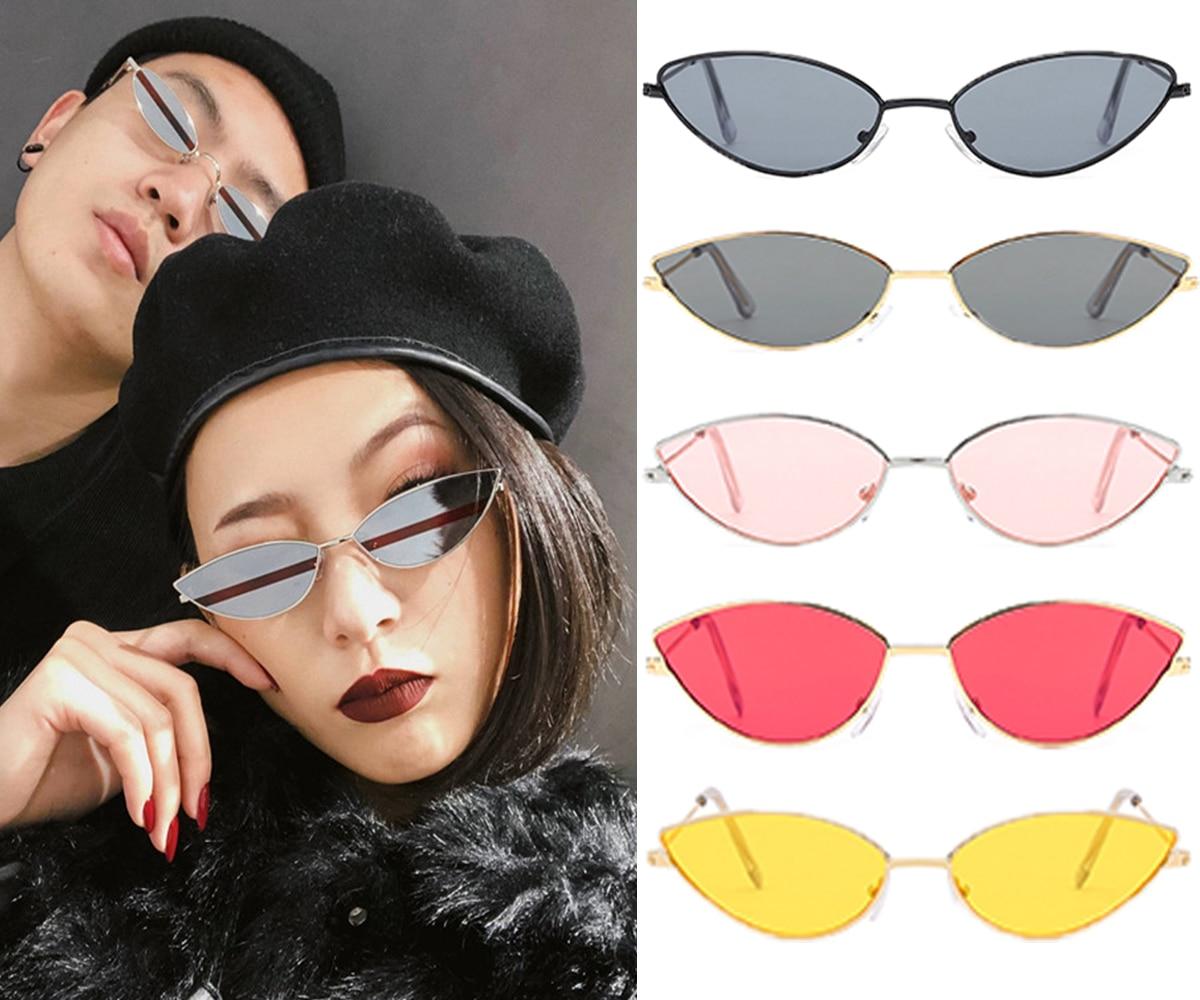 Cat Eye Sunglasses Women 2019 Vintage Sunglasses Brand Designer New Fashion Eyewear Retro Sun Glasses Female Oculos De Sol D40