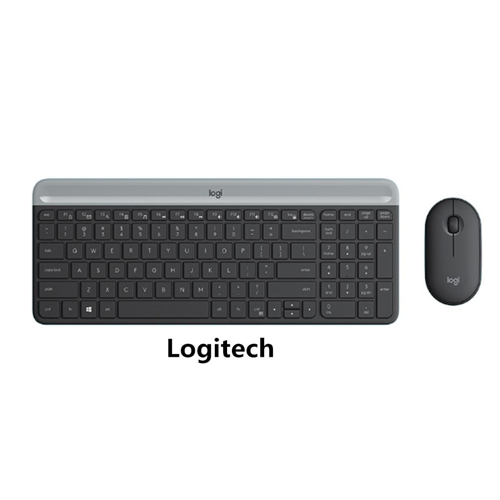 2.4G Ultra-Thin Silent Wireless Keyboard Mouse Set