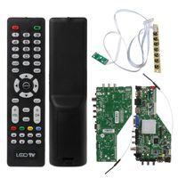 Inteligentne sieci MSD338STV5.0 bezprzewodowy telewizor płyta sterownicza uniwersalny LED płyta kontrolera lcd Android Wifi ATV X6HA w Części zamienne i akcesoria od Elektronika użytkowa na
