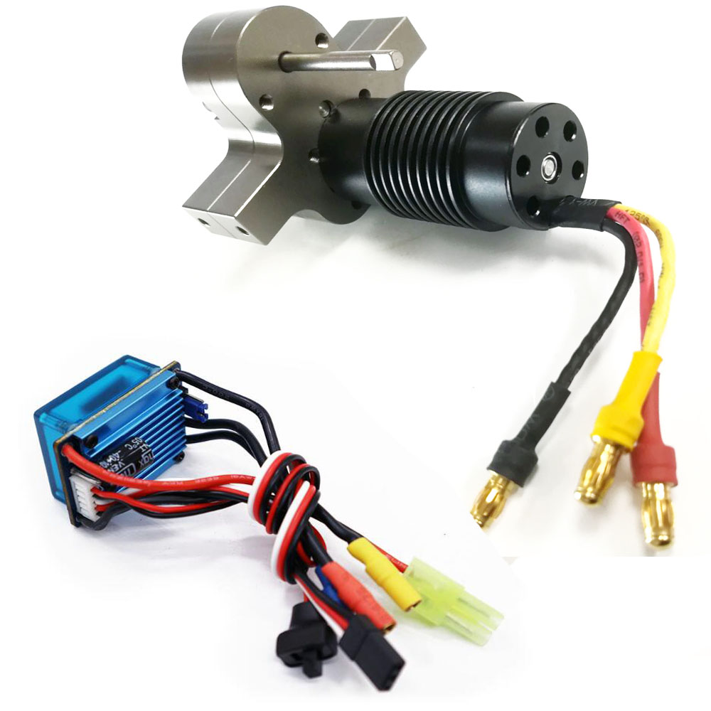 <font><b>WPL</b></font> C14 <font><b>C24</b></font> Modified Component Brushless Motor Metal Gearbox Brushless ESC image
