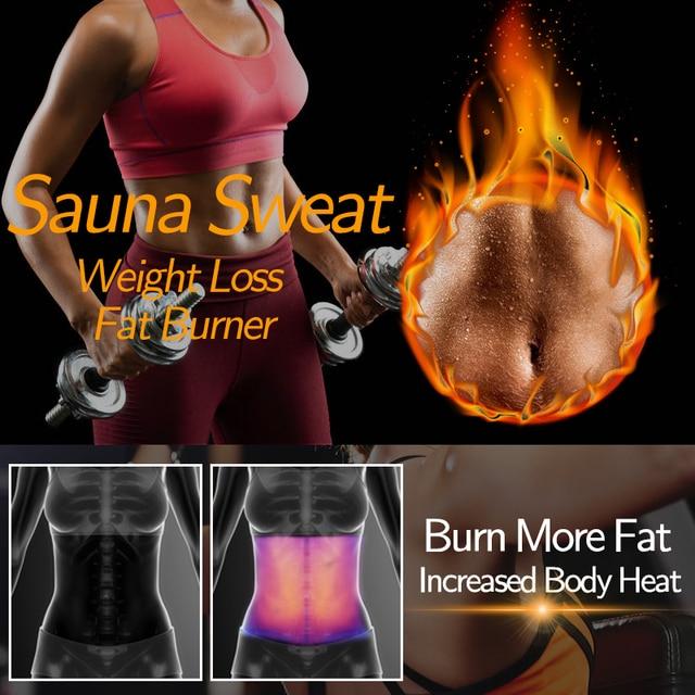 Sauna Waist Trimmer Belly Wrap Workout Sport Sweat Band Abdominal Trainer Weight Loss Body Shaper Tummy Control Slimming Belt 4