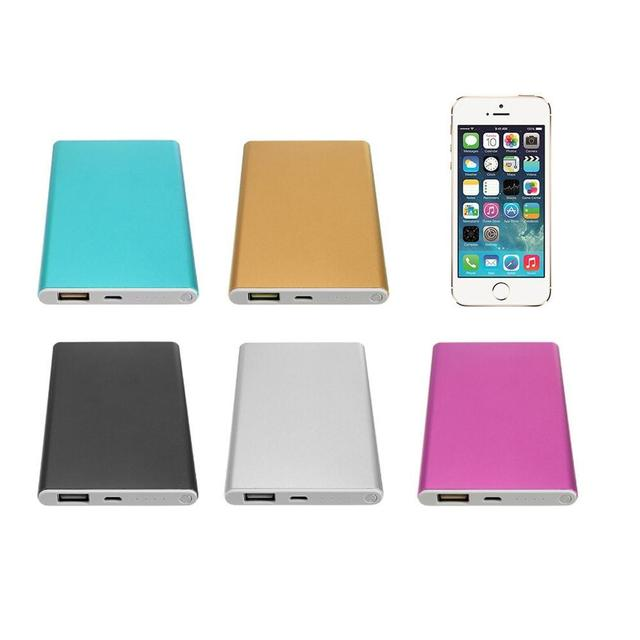 Powerbank Charger Power 12000mah Bank Lowest 18650 External bank bateria Portable Slim Backup Battery Ultra 4