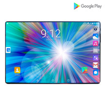 Newest Ultra Slim Android 9.0 Smart 10 inch Tablet HD IPS Large Screen 4G LTE Network Dual Sim Card And Camera Mobile Call Tab(China)