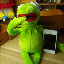 Hot Sale Cartoon 40cm Kermit Plush Toy Sesame Street frogs Doll Stuffed Animal doll Dropshipping Kid child Funny gift