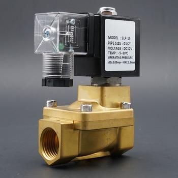 цена на Solenoid Valve 1/4 3/8 1/2 3/4 normally closed high pressure water valve , 16 bar Pilot Diaphragm ,for liquid, gas, light oil