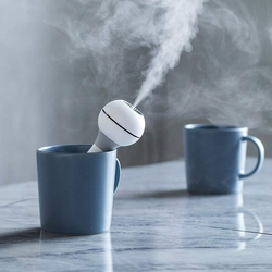 Nawilżacz generujący chłodną mgiełkę  zasilane przez USB przenośne powietrze Mini ultradźwiękowy nawilżacz podróżny  cicha praca  funkcja automatycznego wyłączania fo w Nawilżacze powietrza od AGD na