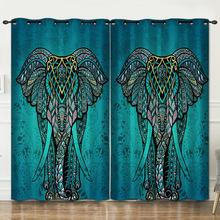 Декоративные занавески в богемном стиле для спальни гостиной