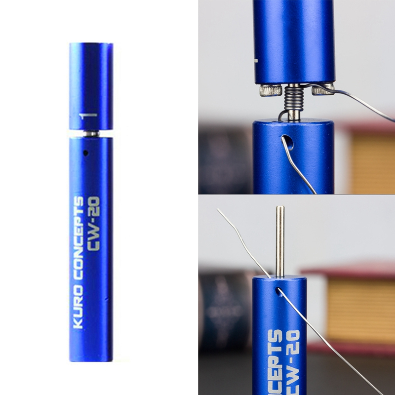 Hot XD-1pcs Coil Master Winding Tool Kuro Koiler Concepts Jig Builder RDA Coiling Coiler RBA