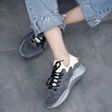 Artmu Sneakers 2019 New Casual Women Shoes Ins Comfortable Lace-up Autumn and Winter Four Seasons Leisure Student Shoes цена