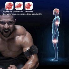 Abdominal Vibrating Massager Electronic Muscle Stimulation Massage Body Slimming EMS Wireless Stimulator Trainer Vibro