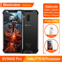 Blackview a BV9600 Pro Original Helio P70 IP68 impermeable Smartphone robusto 6GB + 128GB Android 9,0 19:9 FHD AMOLED teléfono Móvil 4G(China)