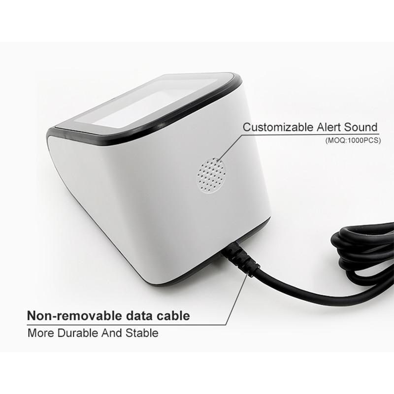 Mobile QR code reader telefon barcode scanner mit USB Kabel nicht-kontakt zahlung kassierer