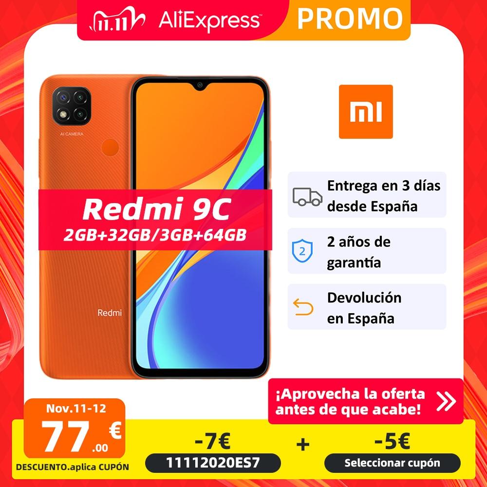 "Global Version Xiaomi Redmi 9C Smartphone 6.53"" HD Display Helio G25 Octa Core 5000mAh Battery 13MP AI triple Camera|Cellphones| - AliExpress"