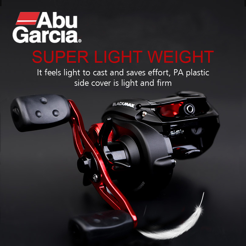 ABU GARCIA Baitcasting Fishing Reels BLACK MAX  6