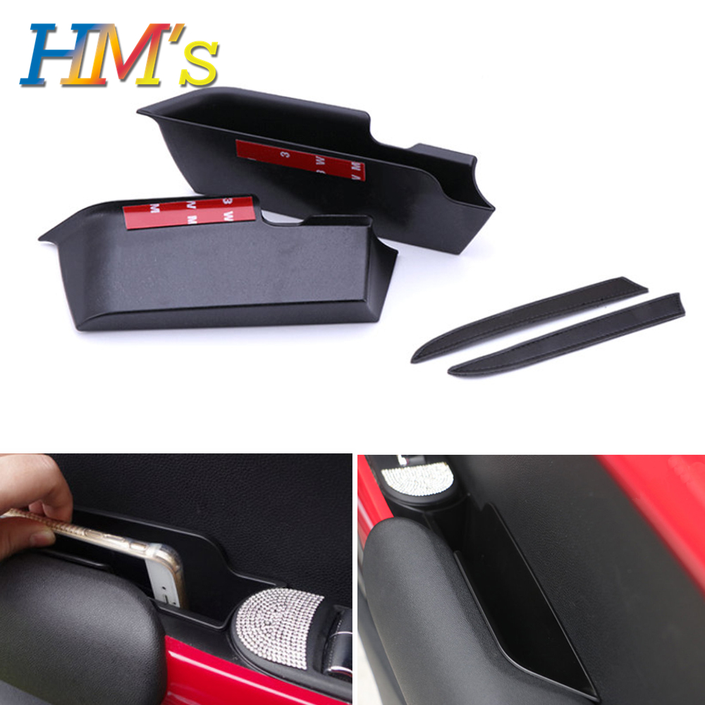 Decro-Accessories Storage-Box-Holder Armrests Car-Door-Handle Styling Mini Cooper