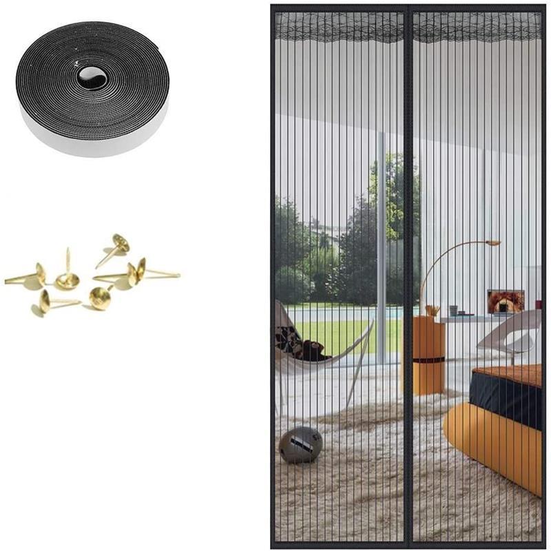 Magnetic mosquito net door net Anti fly insect mosquito door screen Anti-Mosquito Magnetic curtain mesh for door Protection Net