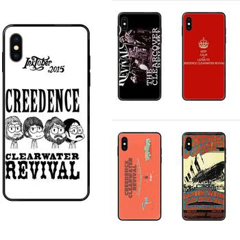 For Xiaomi Mi Note A1 A2 A3 5 5s 6 8 9 10 SE Lite Pro Ultra Black Cover Case Creedence Clearwater Revival image