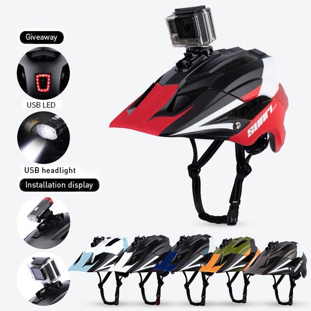 SUNRIMOON Ultralight In-mold MTB Road Bike Helmet capacete ciclismo.casco mtb.casco bicicleta Outdoor Bicycle Cycling Helmet 1