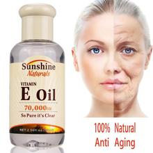 Сыворотка для лица натуральный витамин е эссенция масло отбеливание против морщин омоложение эссенция уход за лицом сыворотка унисекс TSLM1