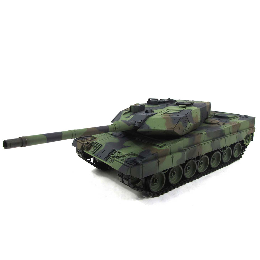 Heng Long 3889-60S 1:16 Leopard 2 A6 RC Tank 6.0S Version with Metal Gearbox
