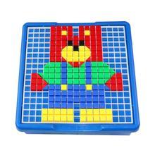 Горячая Распродажа, 240x240x65 мм, тонкая игрушка-головоломка, пластиковые художественные строительные блоки, детские развивающие игрушки, детские подарочные принадлежности