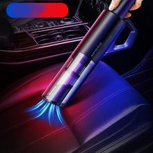 Мощный проводной автомобильный пылесос 6000pa 120 Вт Портативный Ручной USB для влажного/Сухого использования перезаряжаемый пылесос пылесборн...
