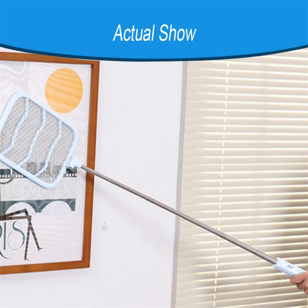 Зарядка мухи комары Swatter портативная ракетка Killer защита человека перезаряжаемый складной выдвижной usb зарядка # 2F