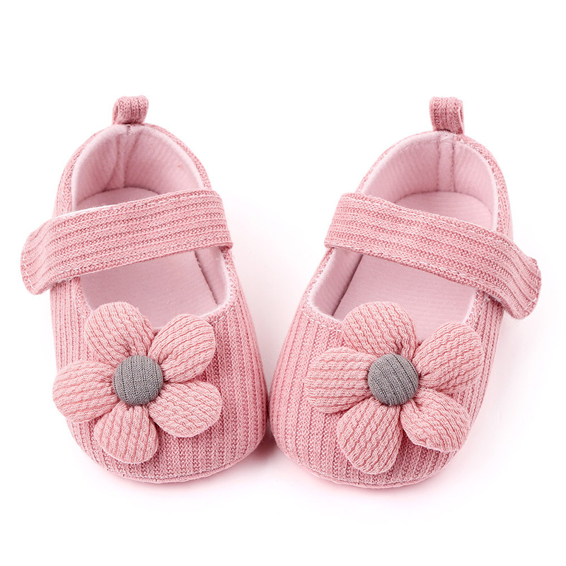 Baby Girl Shoes Knitting Baby Pre Walker Shoes Newborn Infant Princess Shoes For Girls Baby Girl First Walkers F109