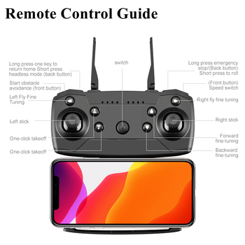 OEMG Z608 New Rc Drone 4K 1080P HD Wide Angle Camera WiFi Fpv Real-time transmission Helicopter Foldable Quadcopter Dron Toys 5