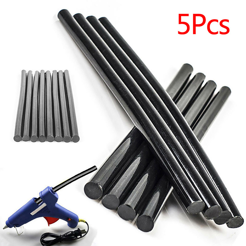 5pcs High Temperature Hot Melt Adhesive Strip Manual Glue Stick Car Dent Free Paint Removal Automotive Glue Auto Parts