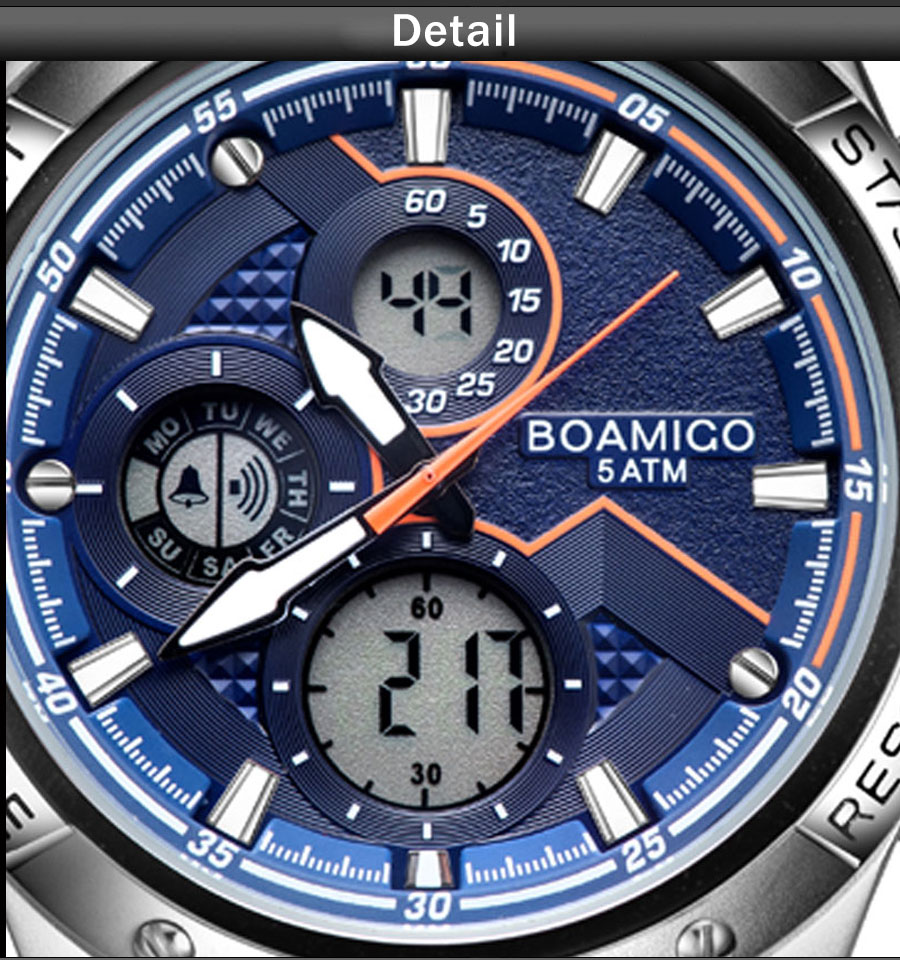 H95fda405fd6c46d985921b53434c3d16N BOAMIGO Fashion Mens Watches men Military Digital analog Quartz Chronograph sport Watch  Waterproof wristwatch relogio masculino