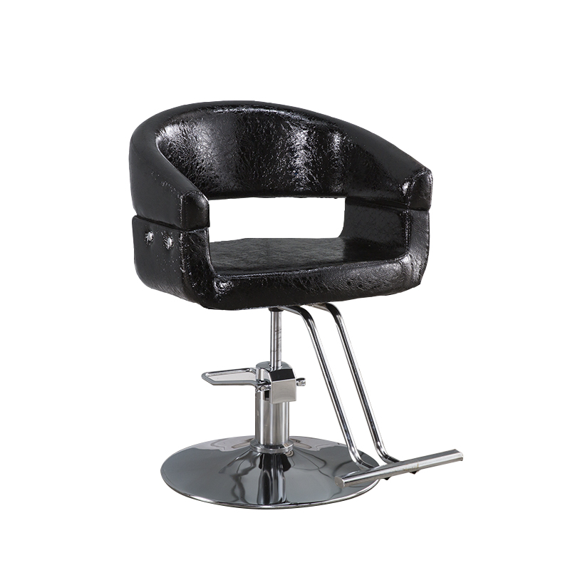 Factory Direct Barber Chair Hair Salon Hairdressing Can Be Raised And Lowered Rotary Adjustment Chair Simple Hairdressing Chair