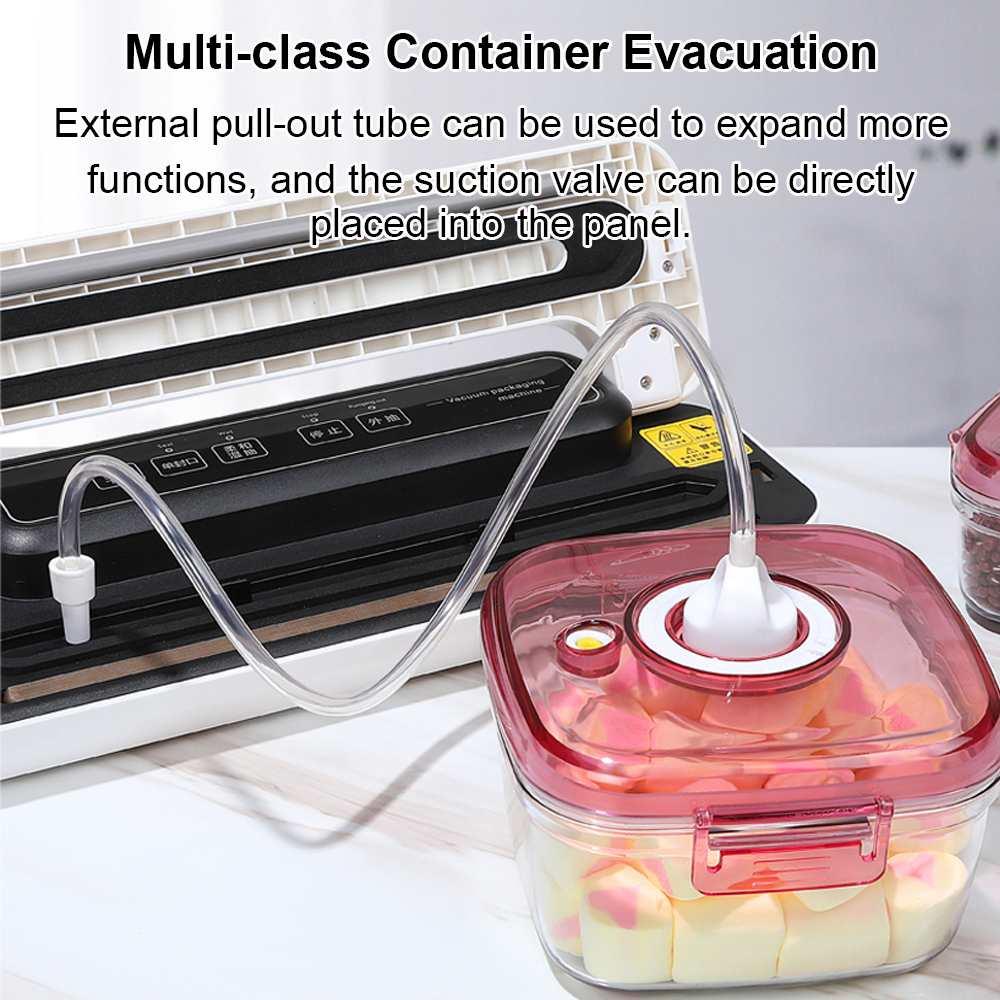AUGIENB 110 V-240 V бытовой пищевой вакуумный упаковщик, электрическая упаковочная машина, вакуумный упаковщик, герметичный сухой влажный корм