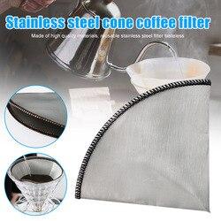Wielokrotnego użytku filtry do kawy stożek ze stali nierdzewnej filtr do ekspresu do kawy J99Store|Filtry do kawy|   -