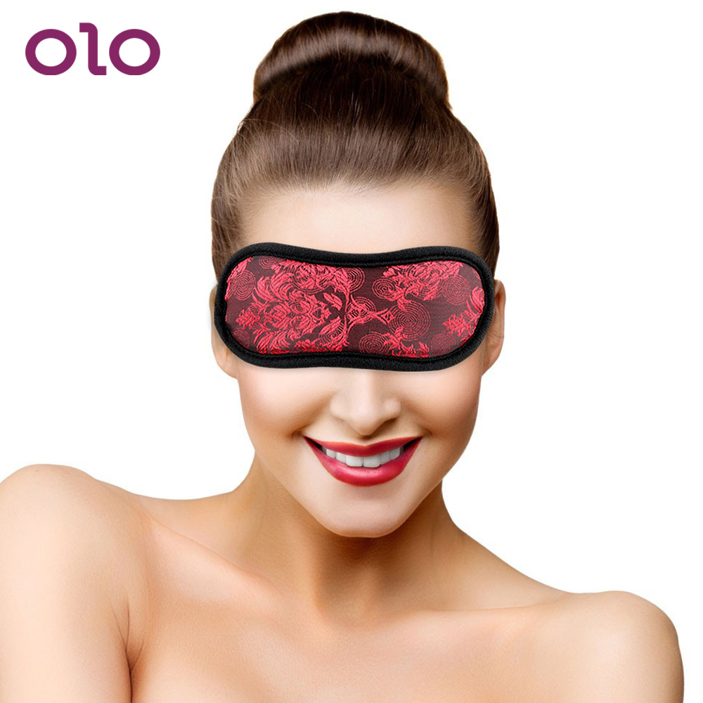 OLO Sex Eye Mask Sex Products Sex Toys For Woman Adult Games Flirting Blindfold SM Bondage Erotic Toys