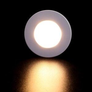 Image 5 - 100X DHL rond Surface monté 3W 220V LED Downlights LED plafonnier Spot pour la maison placard salon chambre éclairage