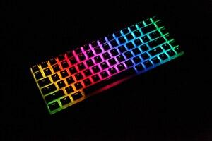 Image 3 - بودنغ V2 pbt doubleshot keycap oem الخلفية للوحة المفاتيح الميكانيكية أبيض أسود gh60 بوكر 87 tkl 104 108 ansi iso xd64 xd68
