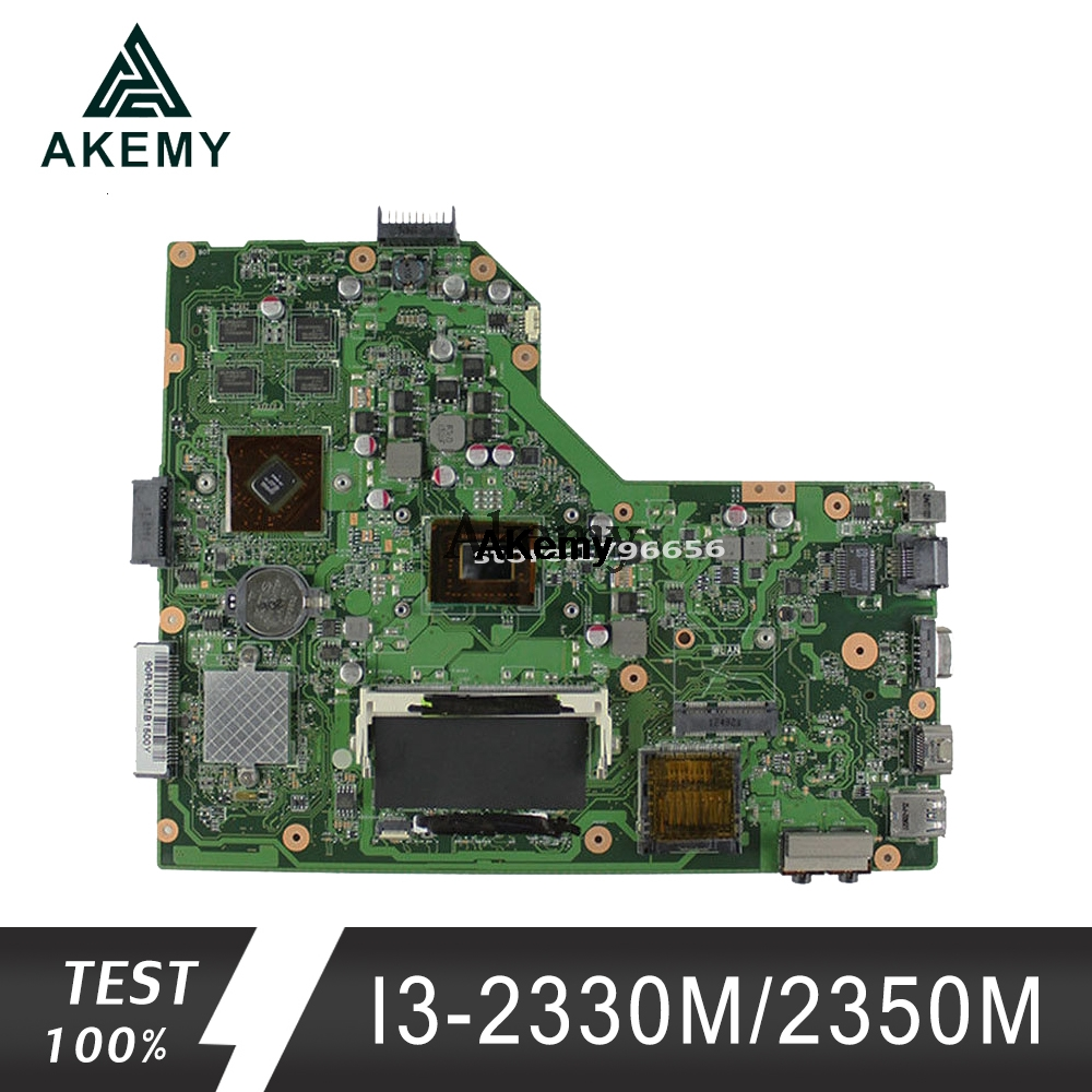 Akemy K54HR Laptop Motherboard For ASUS K54HR X54HR X54HY K54LY X54H Test Original Mainboard I3-2330M/2350M PM
