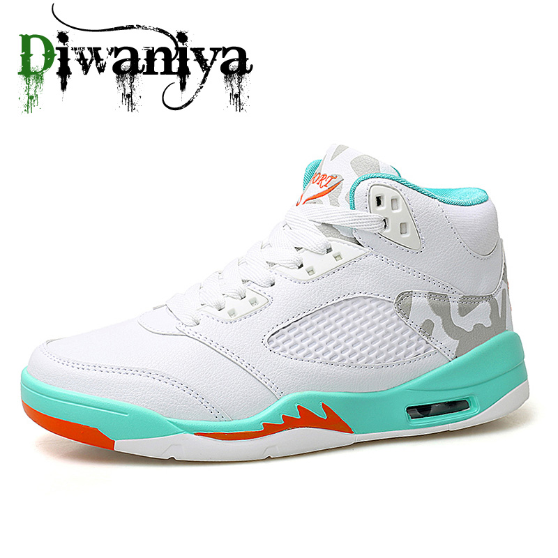 Sneakers Basketball-Shoes Colorful Brand 45 Damping Men Athletic-Footwear Air-Cushion title=