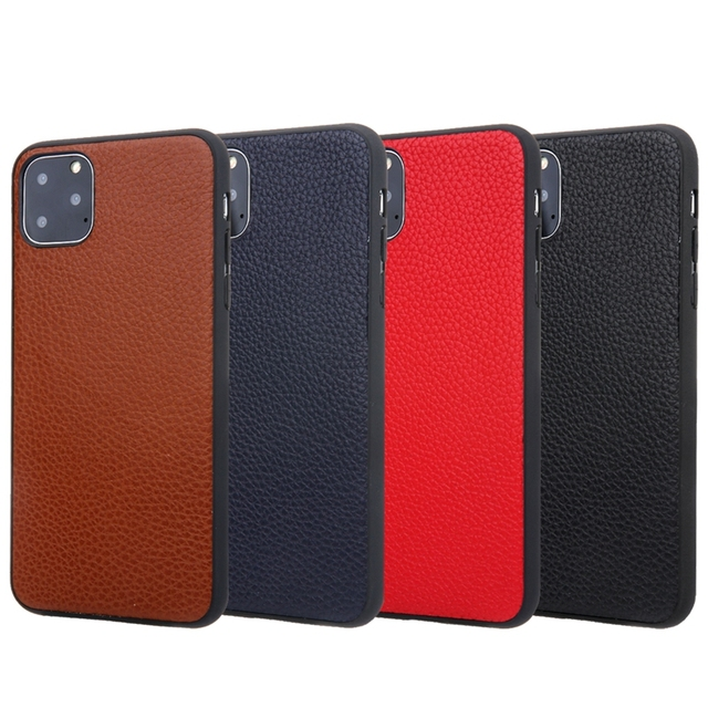 Genuine Leather Soft TPU Case for iPhone 11/11 Pro/11 Pro Max 5