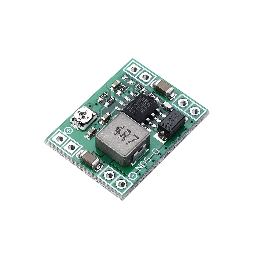 1/3/5/<font><b>10</b></font>/20pcs DC-DC 7-28V to 5V 3A Step Down Power Supply Module Buck Converter Replace <font><b>LM2596</b></font> image