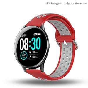 Image 5 - Pulseira de silicone para hofofit hf05 acessórios relógio inteligente banda substituição para agptek lw11 pulseira laço ajustável macio 22mm