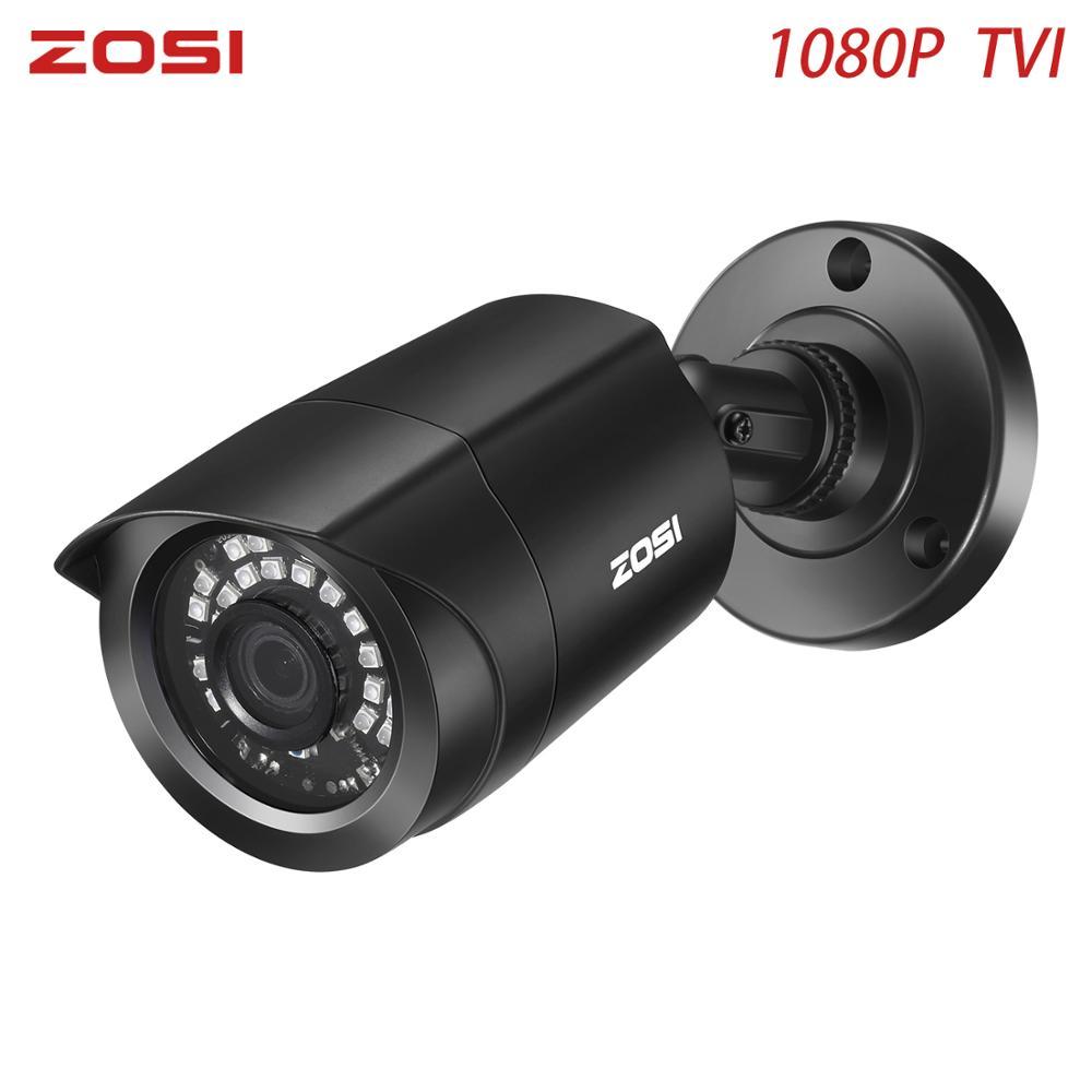 ZOSI 1080P TVI Bullet CCTV Camera IR Camera Nightvision Waterproof IP66 Indoor Outdoor CCTV Video Camera For DVR Kit