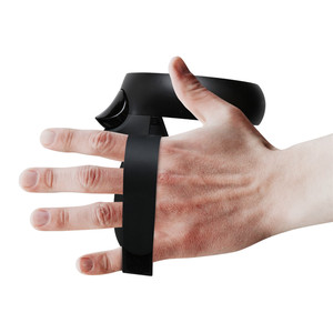 Image 5 - 1 זוג VR בקר מתכוונן Knuckle רצועות עבור צוהר Quest/קרע S VR מגע בקר אביזרי גריפ