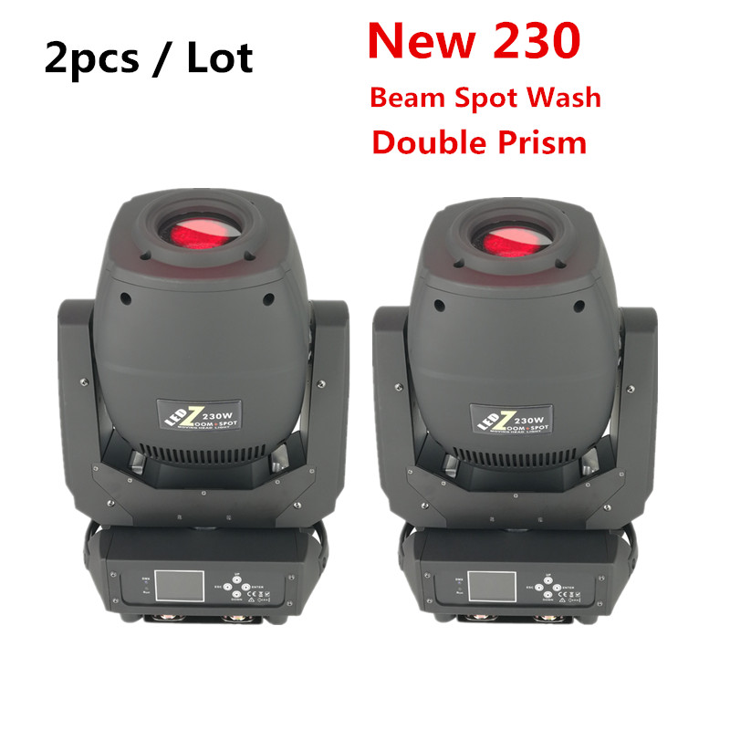 2pcs / Lot 60W 90W 150W 200W 230W LED Moving Head Beam Spot Zoom Light LED Lyre  For DJ Nightclub Party
